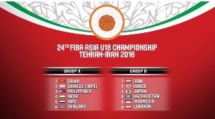 FIBA ASIA U18 – 2016